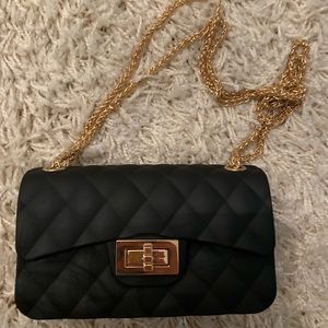 Handbags - Jelly Clutch Bag Quilted Crossbody with Chain